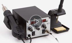 Відеоогляд термоповітряної паяльної станції Accta 401