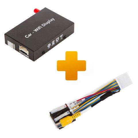 Адаптер дублирования экрана Smartphone iPhone и кабель подключения для Toyota Touch, Scion Bespoke