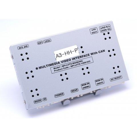 Interfaz de video para Audi A3 MMI Radio MMI Navigation Plus modelo 2014 + pantalla LCD táctil