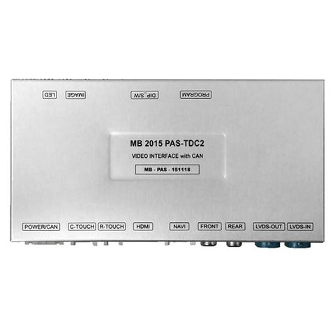 Video Interface for Mercedes-Benz NTG 5.0/5.1 with PAS