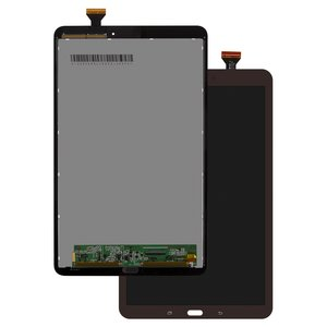 LCD for Samsung T560 Galaxy Tab E 9.6, T561 Galaxy Tab E Tablets, (brown, with touchscreen)