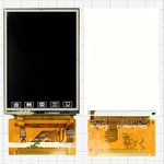 LCD China-Nokia 6300, (with touchscreen, 34 pin, (61*43)) #GC240-0109FPC-C