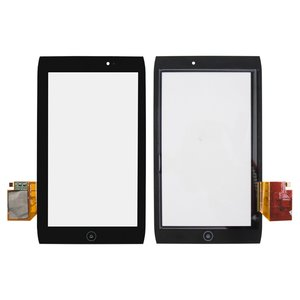 Touchscreen for Acer Iconia Tab A100 Tablet, (black)