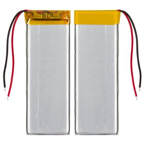 Battery, (73 mm, 27 mm, 3.8 mm, Li-ion, 3.7 V, 800 mAh)