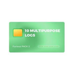 10 Multipurpose Logs for Furious PACK 2