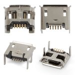 Conector de carga puede usarse con tablet PC; celulares, 5 pin, micro USB tipo-B, tipo 4