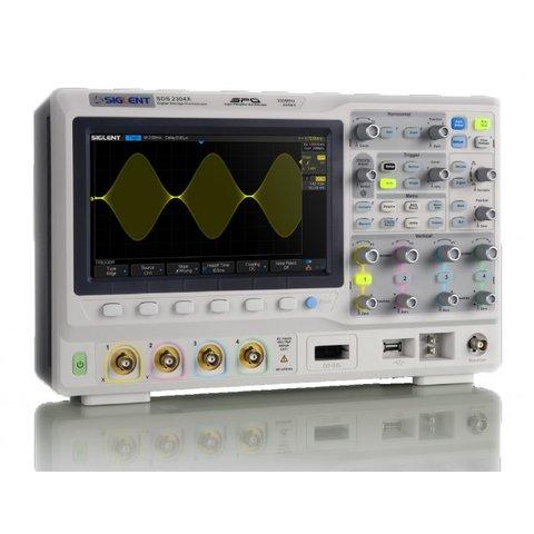 Фосфорний цифровий осцилограф SIGLENT SDS2104X