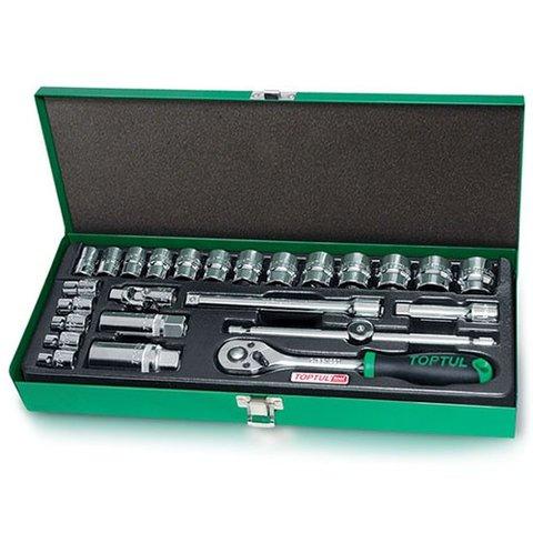 Набір інструментів у кейсі TOPTUL GCAD2501