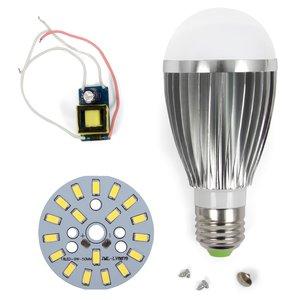 Комплект для сборки светодиодной лампы SQ-Q03 9 Вт (холодный белый, E27)