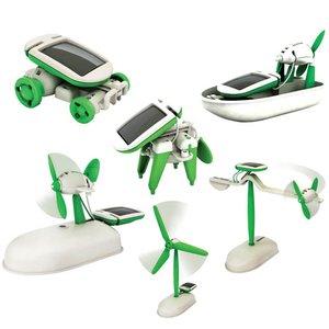 """Juego de construcción CIC 21-610 """"Robot solar"""" 6 en 1"""